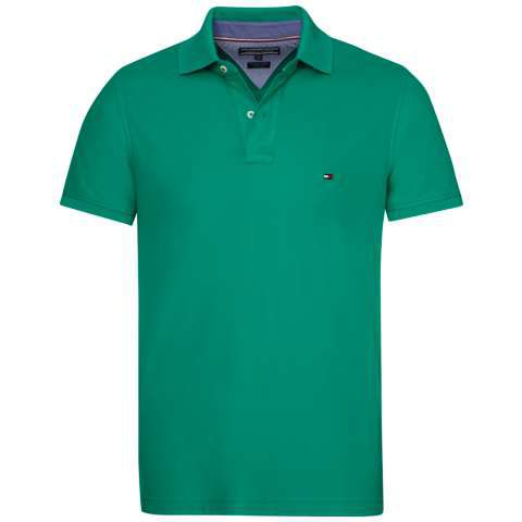 Men's Tommy Hilfiger Performance polo top, Light Green