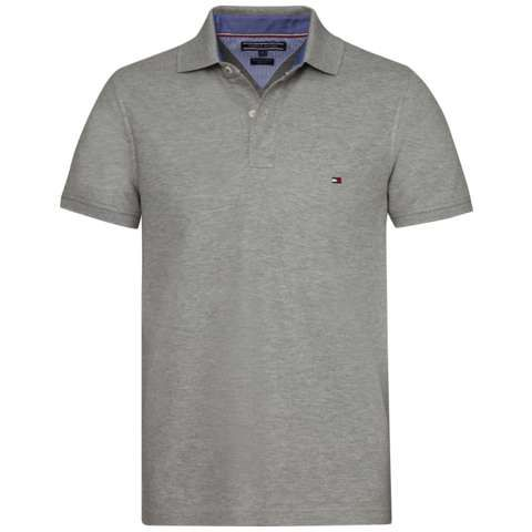 Men's Tommy Hilfiger Performance polo top, Light Grey