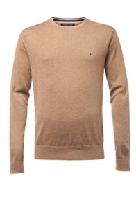 Tommy Hilfiger Plaited cotton silk jumper