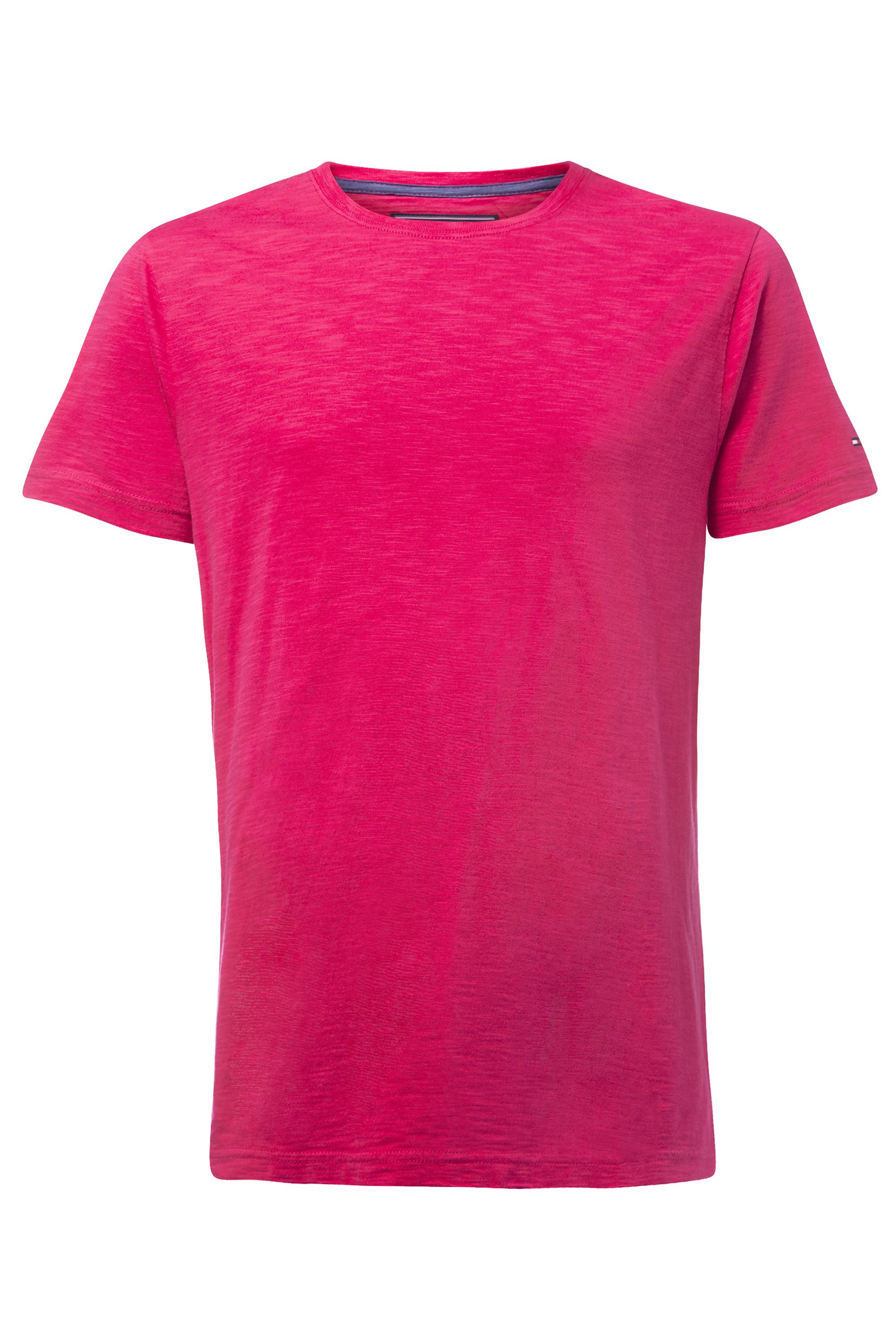 Men's Tommy Hilfiger Flame jersey t-shirt, Pink
