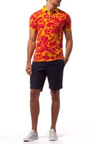 Tommy Hilfiger Carson print polo top