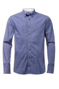 Tommy Hilfiger Micro dotted paisley print shirt
