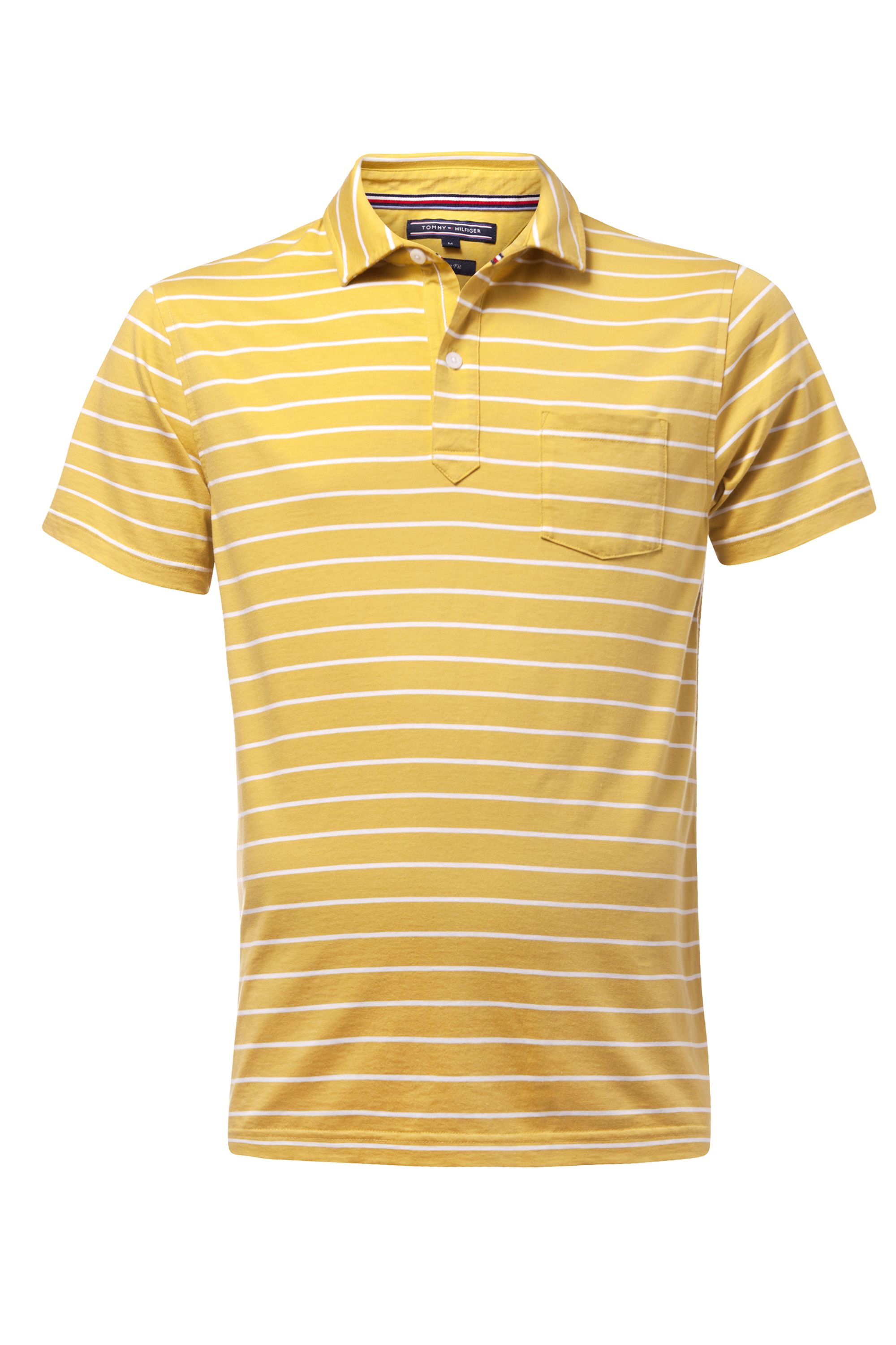 Men's Tommy Hilfiger Bessy stripe polo top, Yellow