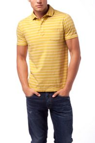 Tommy Hilfiger Bessy stripe polo top