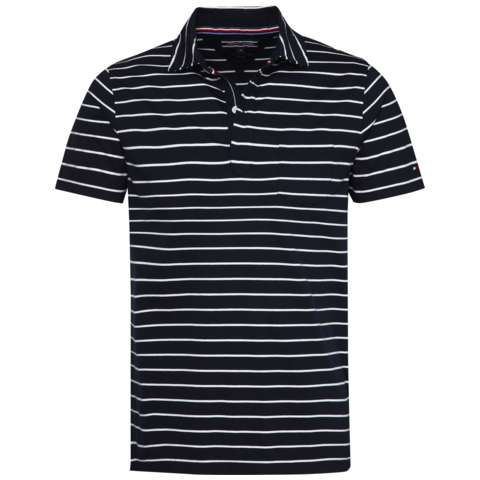 Men's Tommy Hilfiger Bessy stripe polo top, Blue