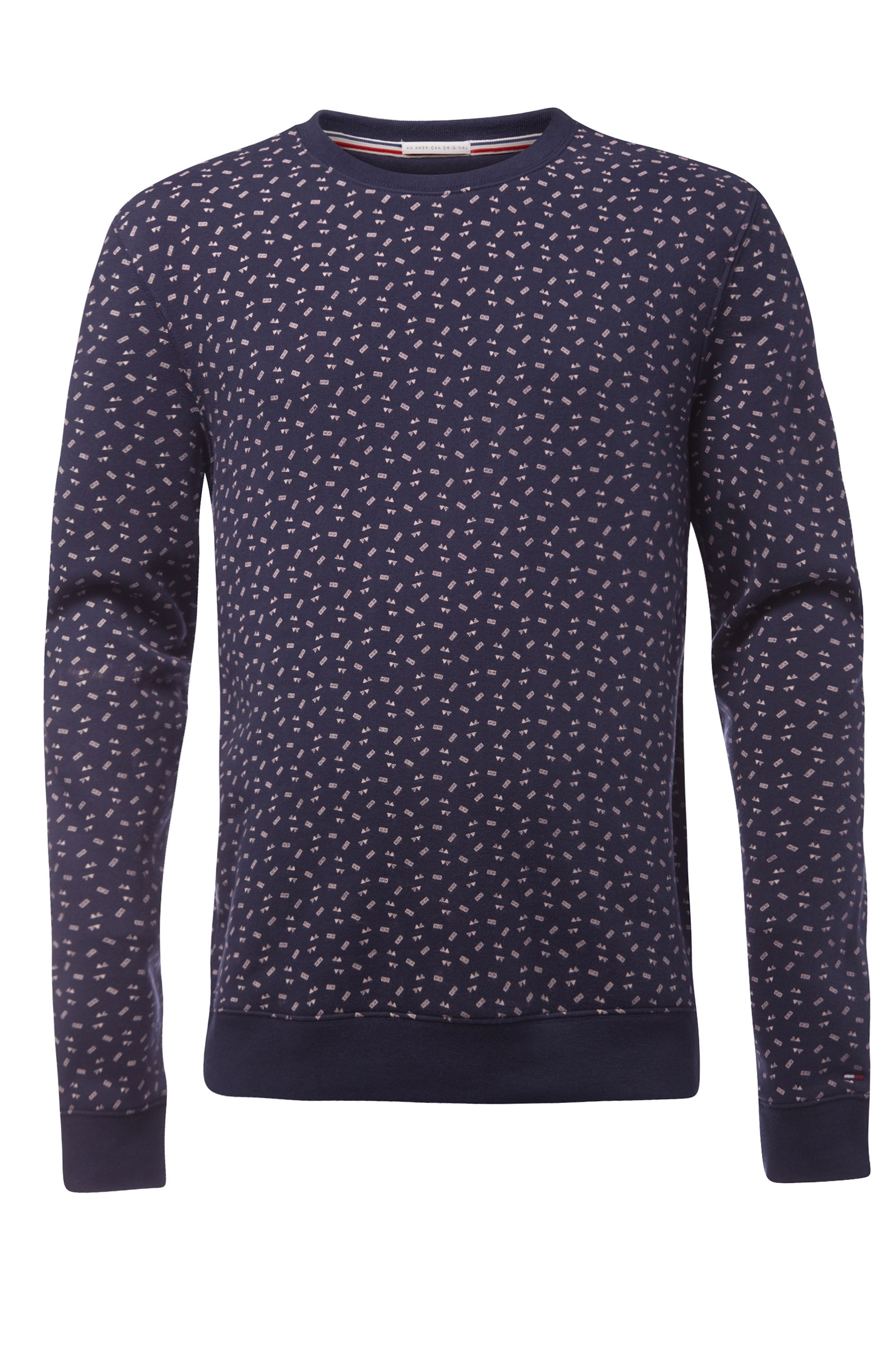 Men's Tommy Hilfiger printed sweater, Blue