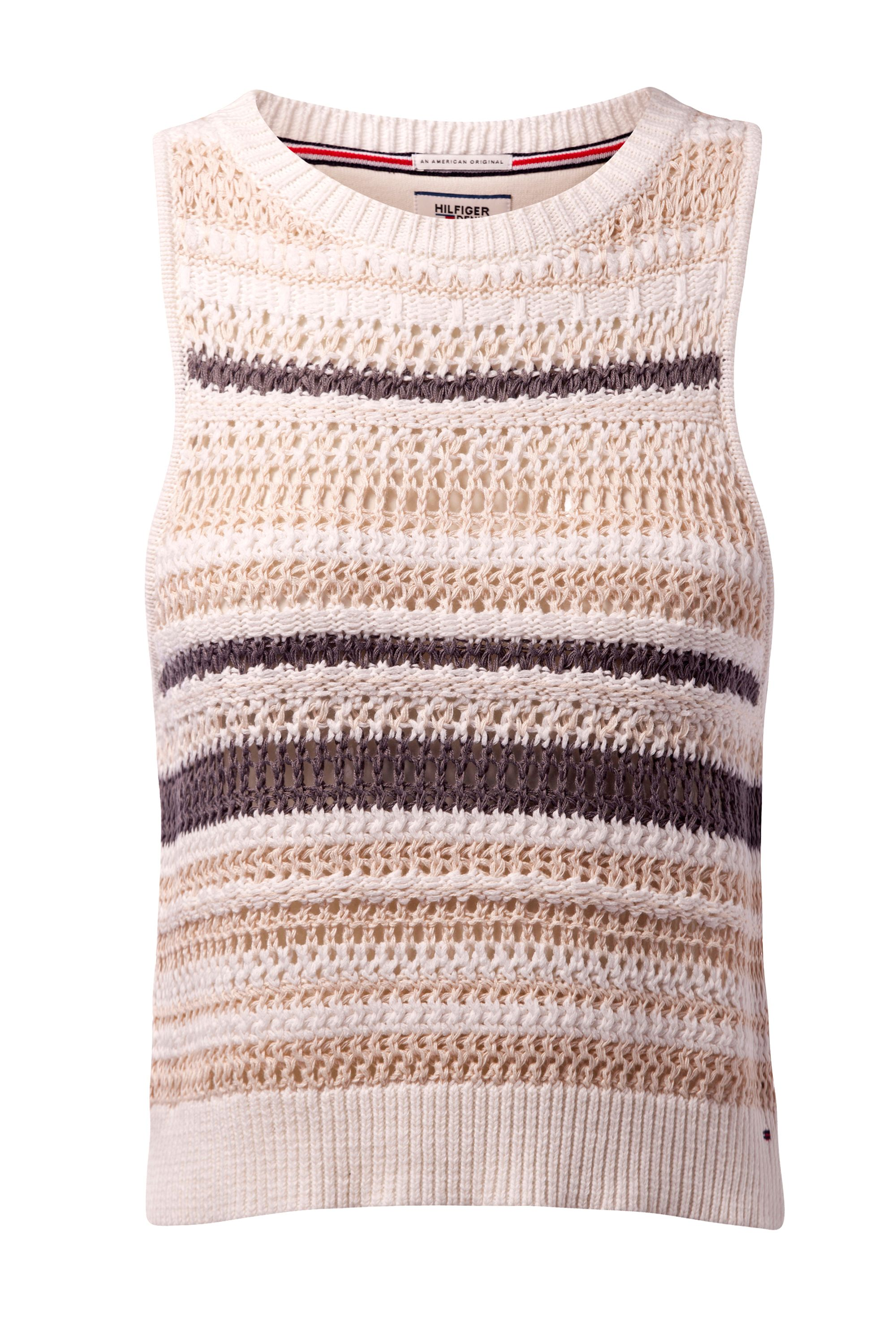 Tommy Hilfiger Knit Tank Top Cream