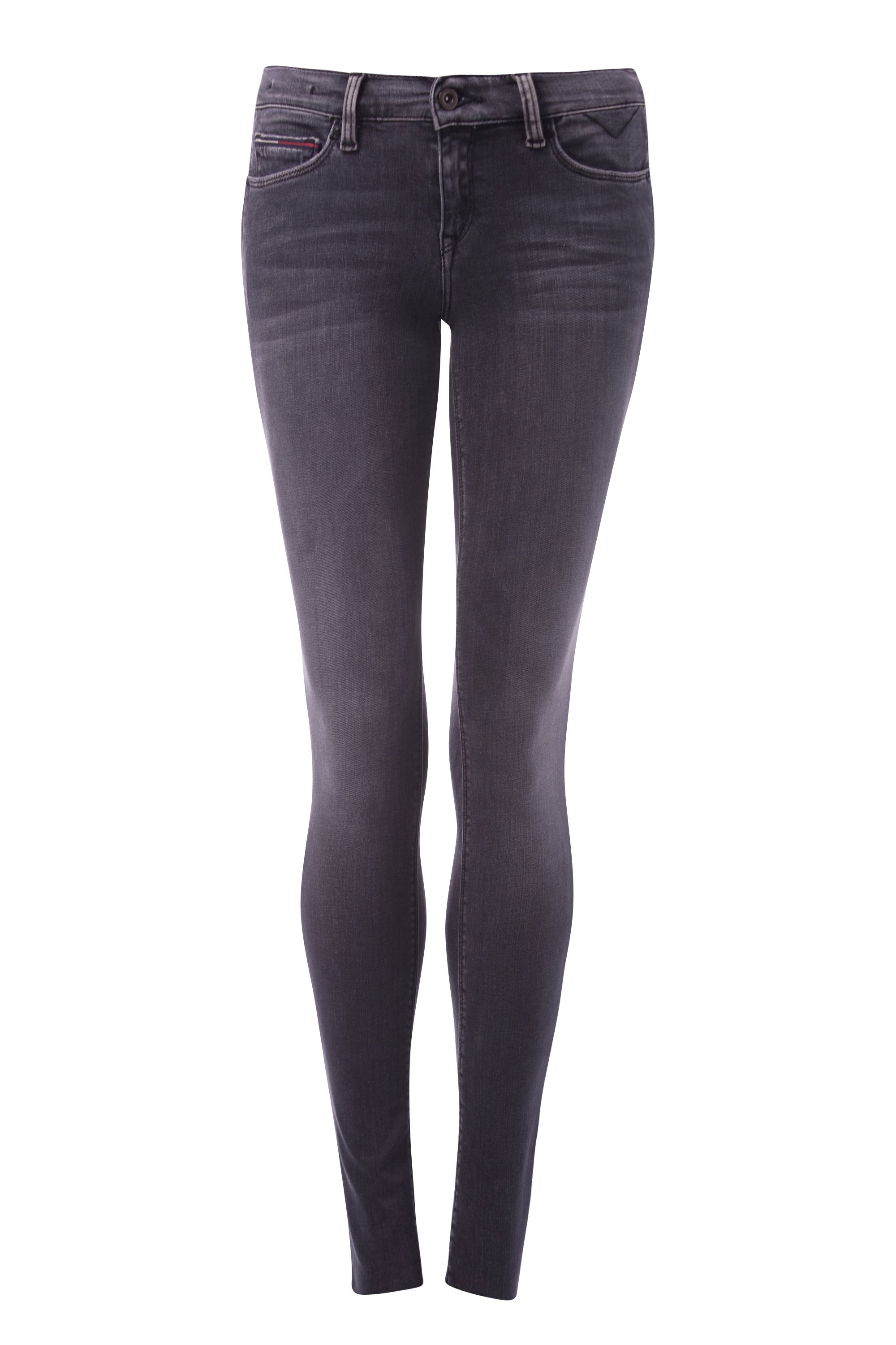 Mid Rise Skinny Nora Jeans, Grey