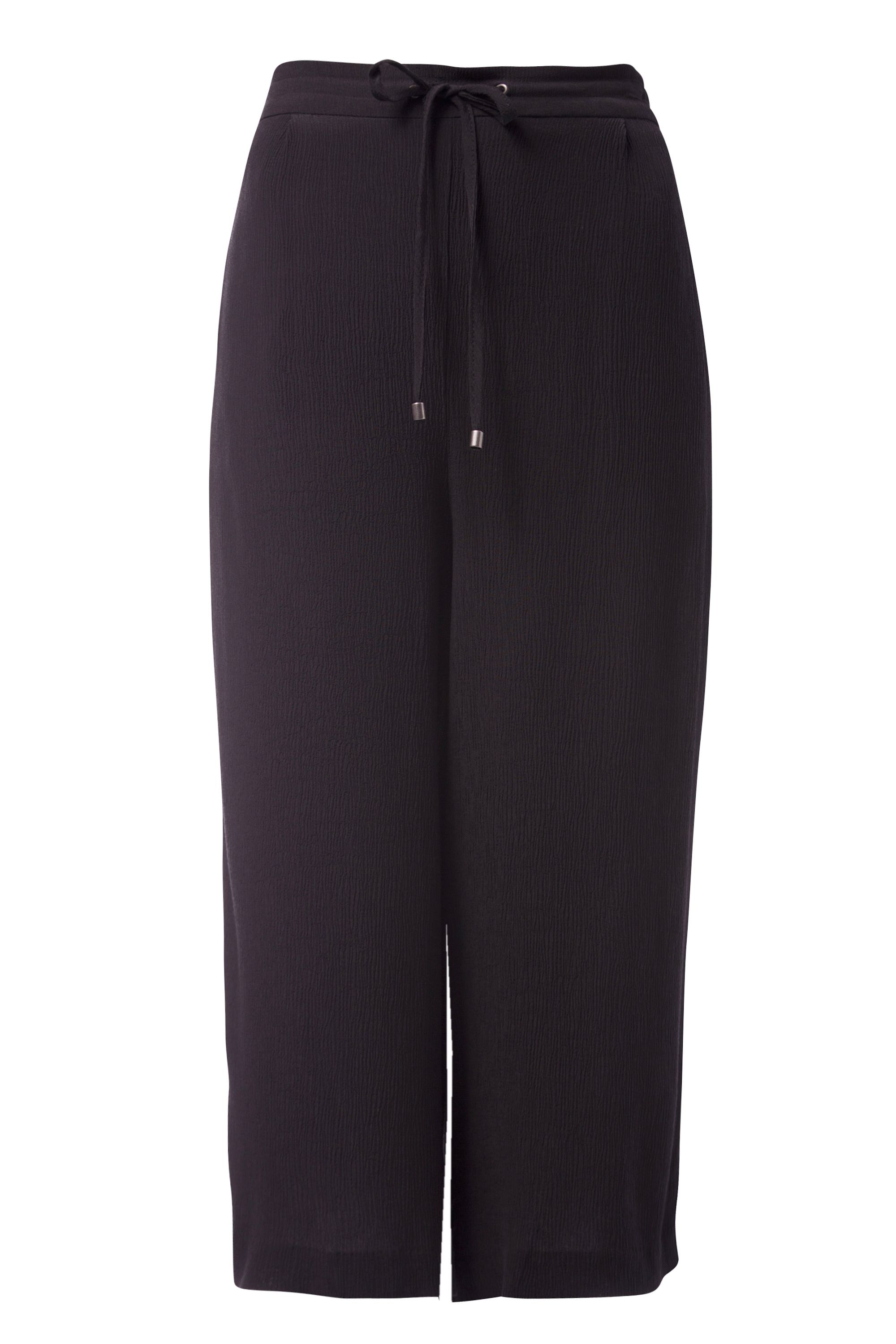 Tommy Hilfiger Loose Fit Culottes, Black