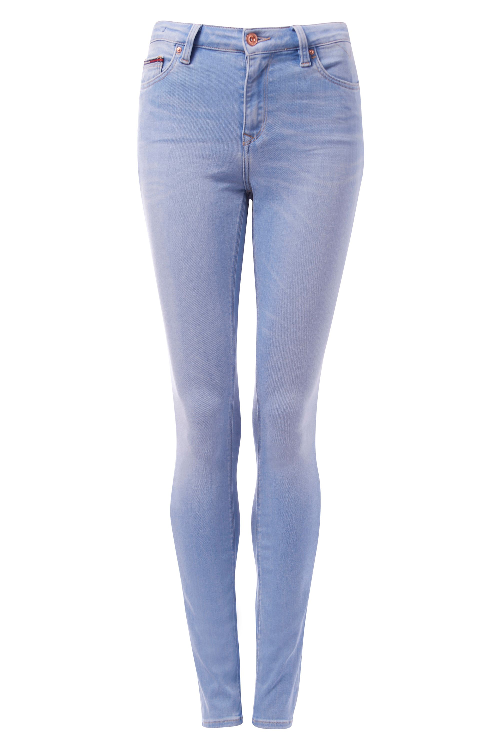 Tommy Hilfiger High Rise Skinny Santana Jeans Light Blue