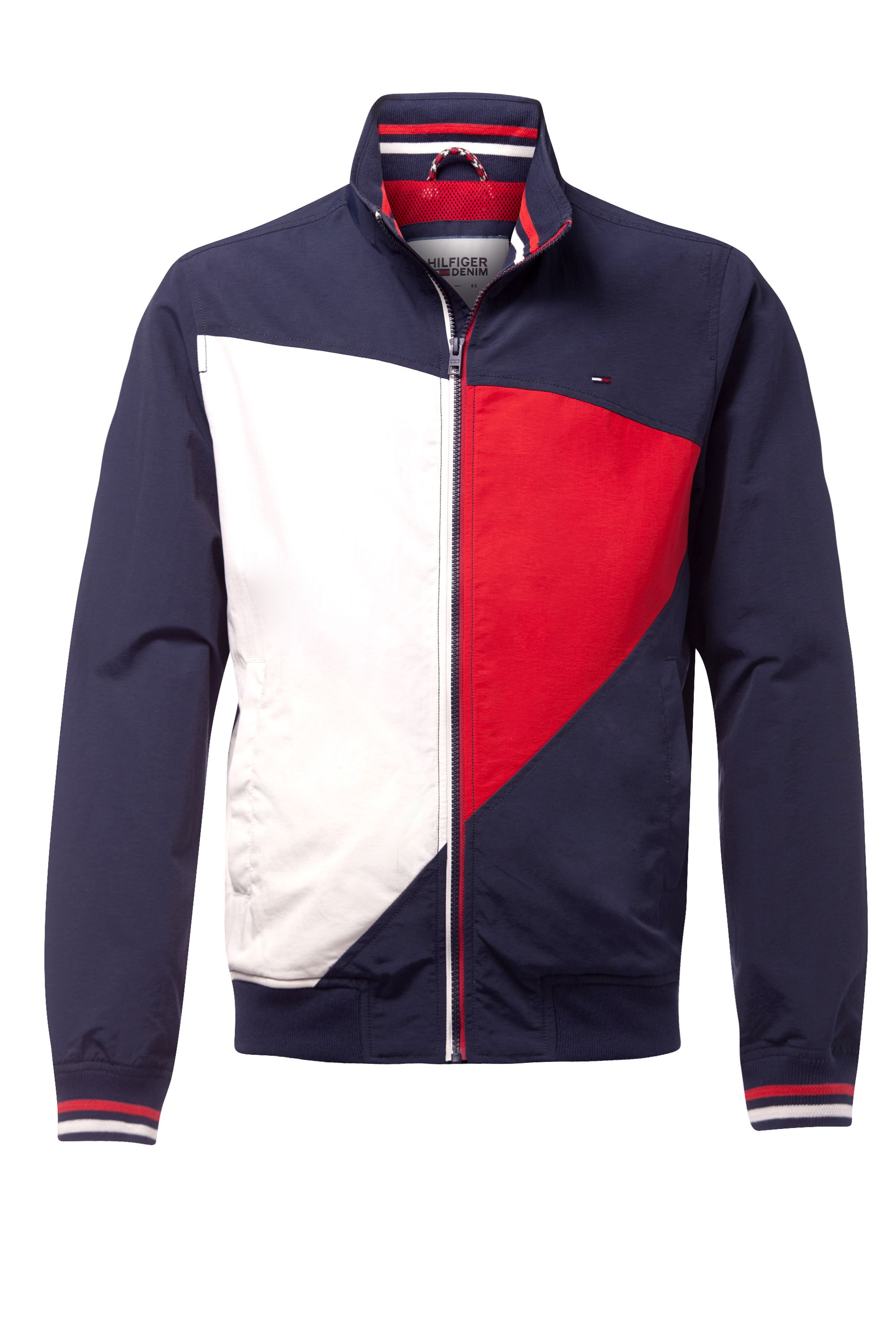 Mens Tommy Hilfiger casual bomber jacket Navy