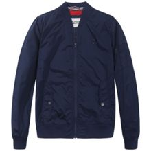 Tommy Hilfiger straight bomber jacket