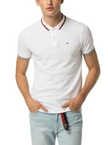 Tommy Hilfiger basic stretch polo top