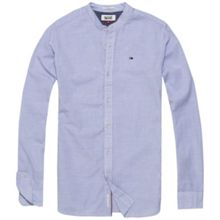 Tommy Hilfiger linen blend stripe shirt