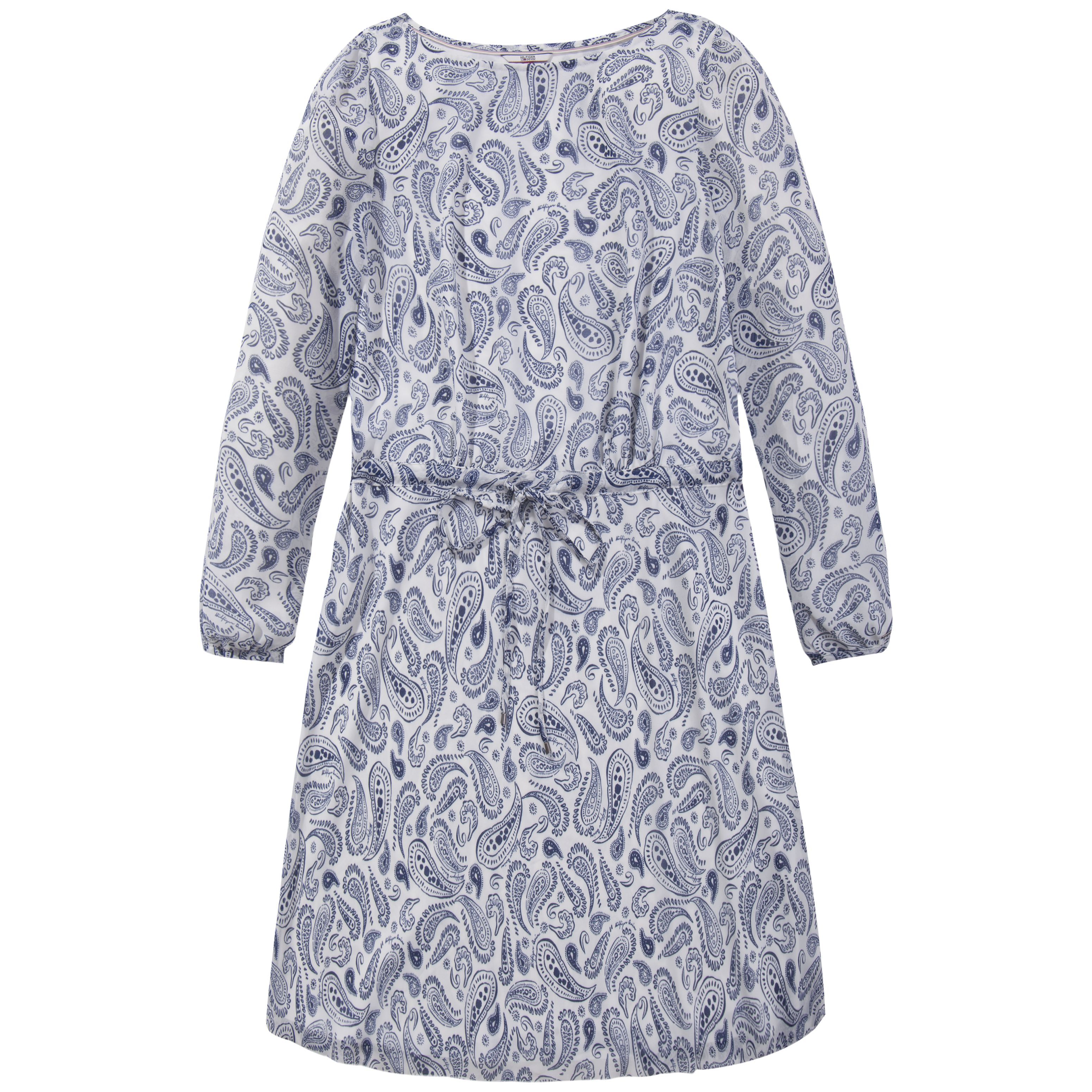 Tommy Hilfiger Paisley Print Dress, Cream