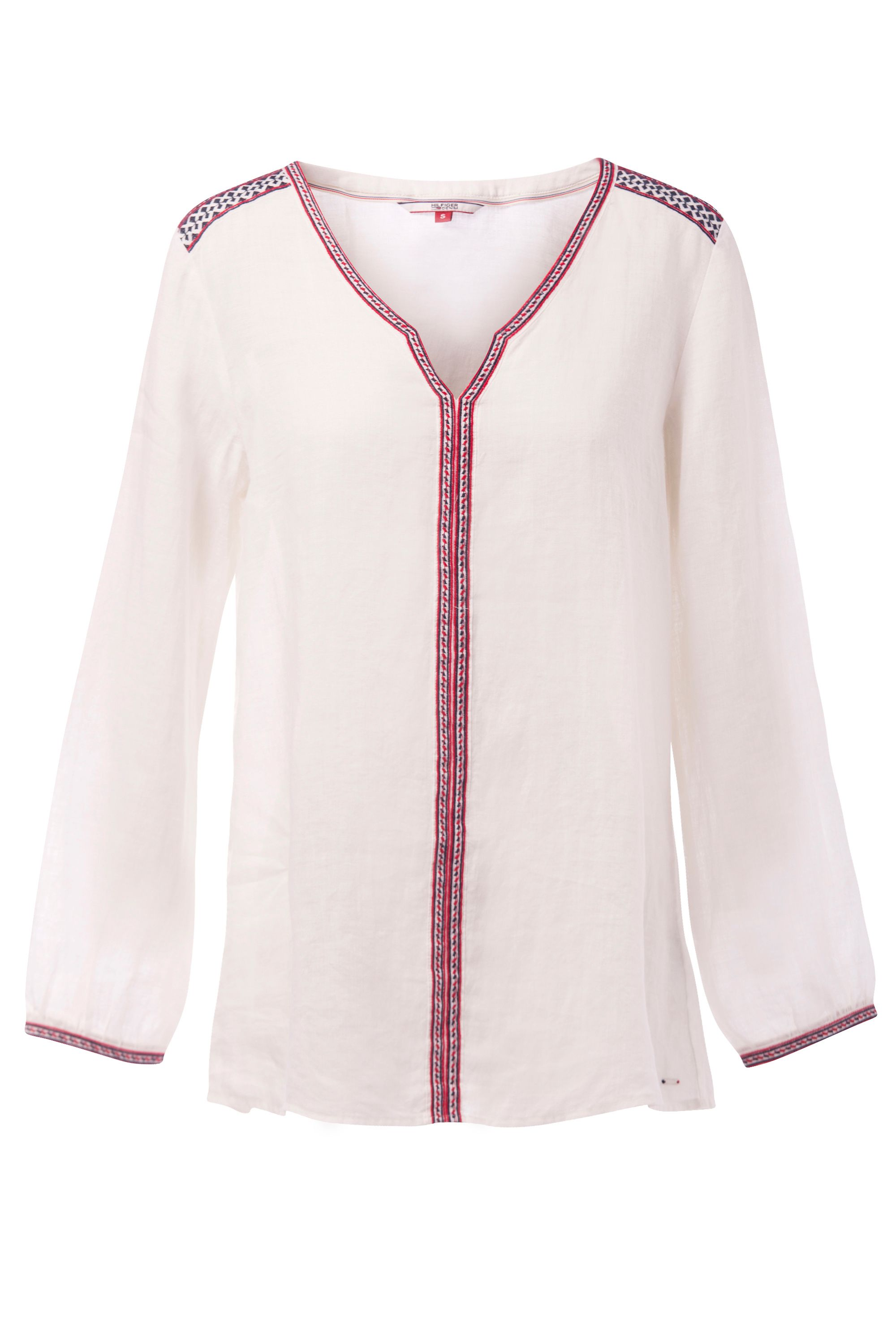 Tommy Hilfiger Embroidered Tunic, White