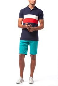 Tommy Hilfiger track polo top