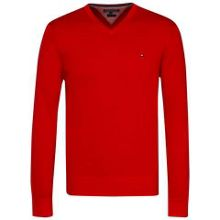 Tommy Hilfiger Plaited v-neck sweater