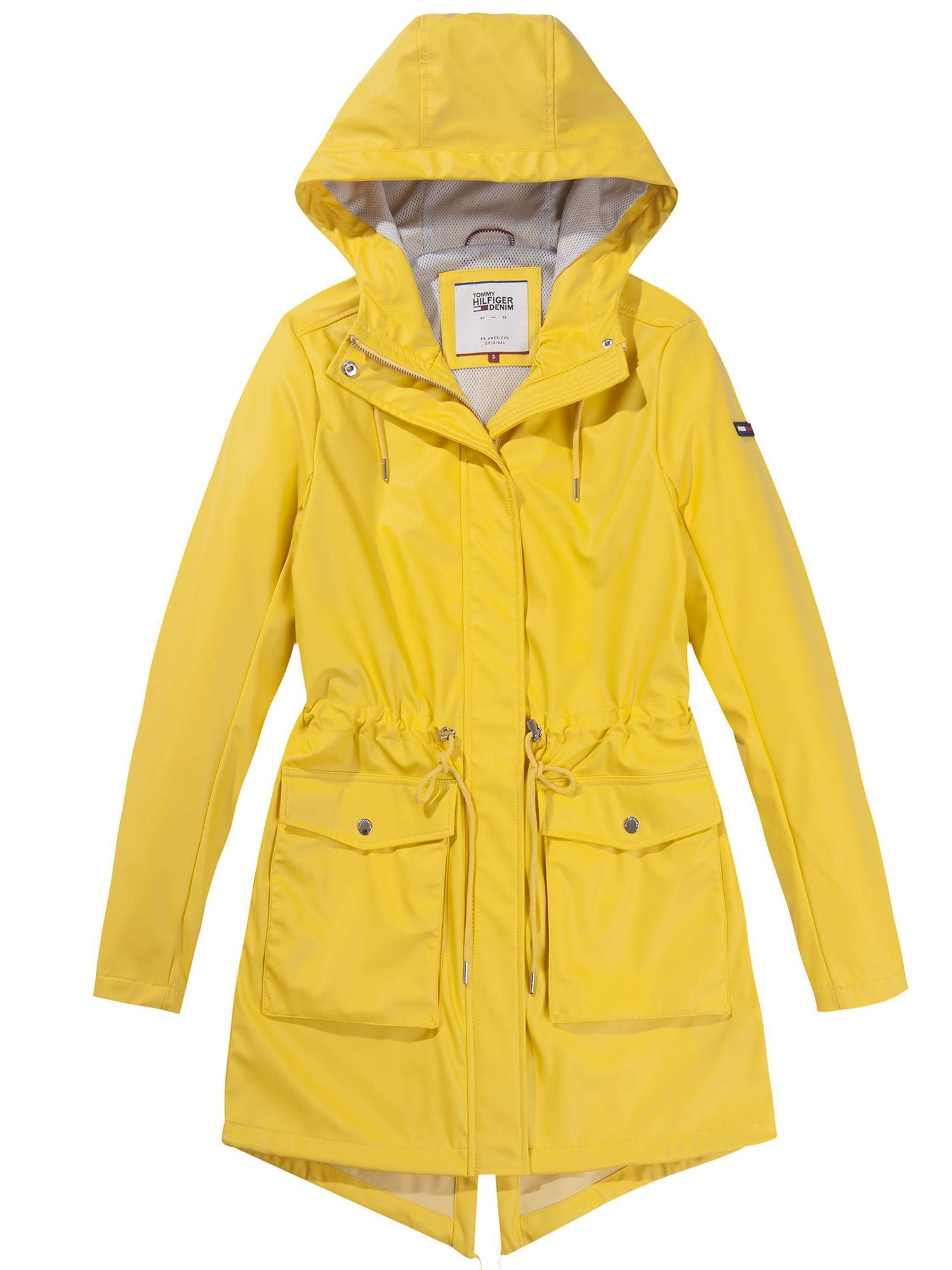 Tommy Hilfiger Parka Jacket, Yellow