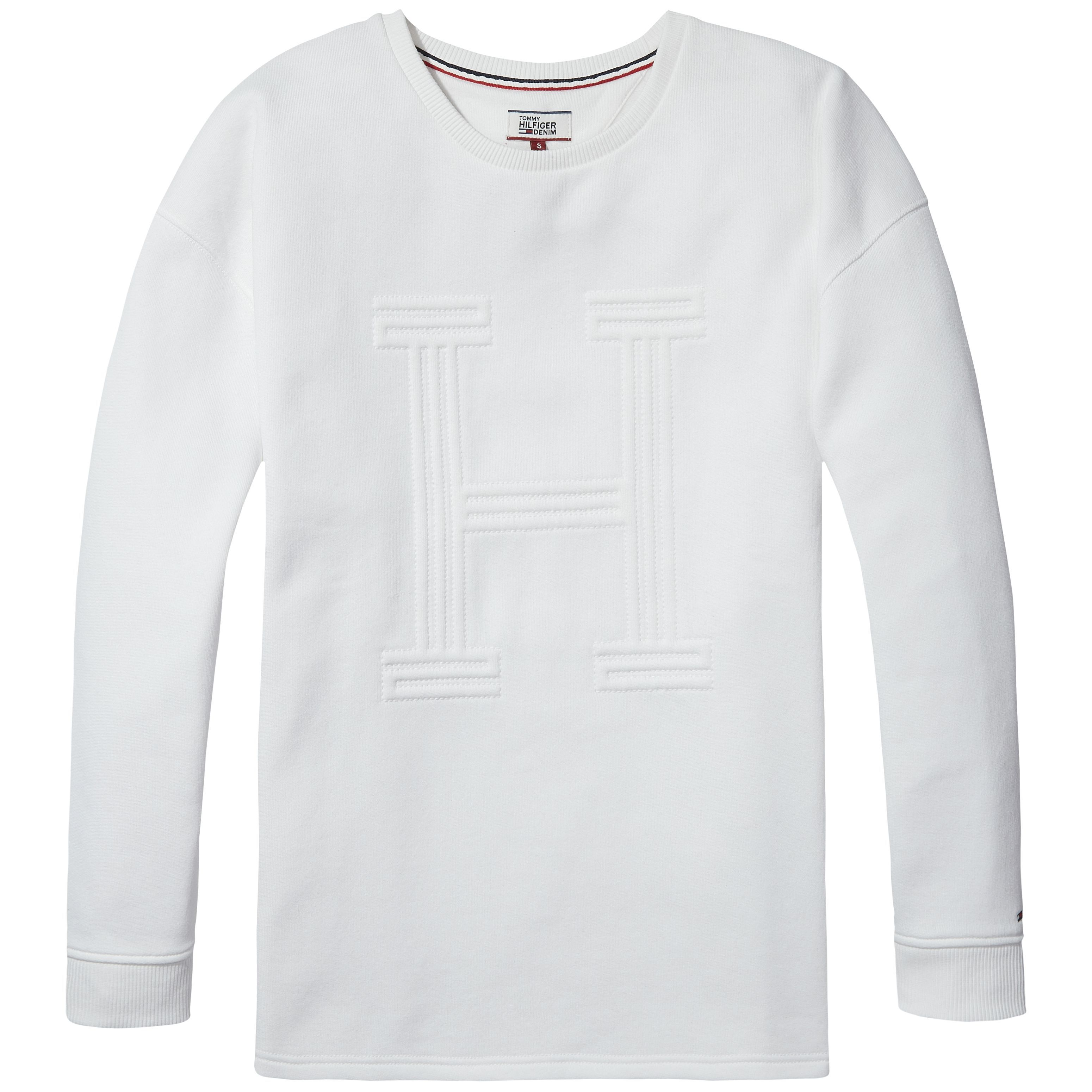 Tommy Hilfiger Graphic H Sweater, White