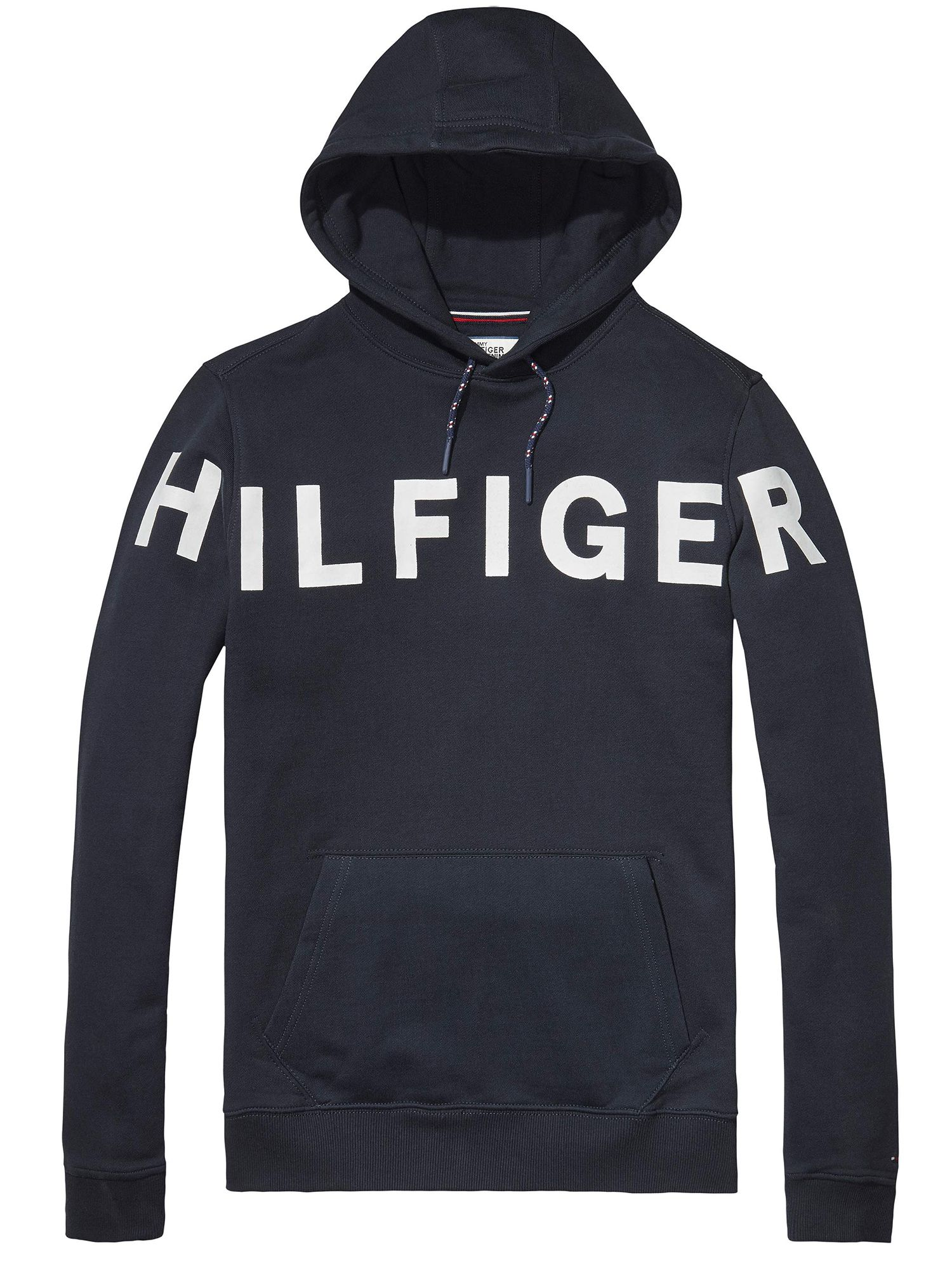 Men's Tommy Hilfiger Basic Branded Jumper, Blue
