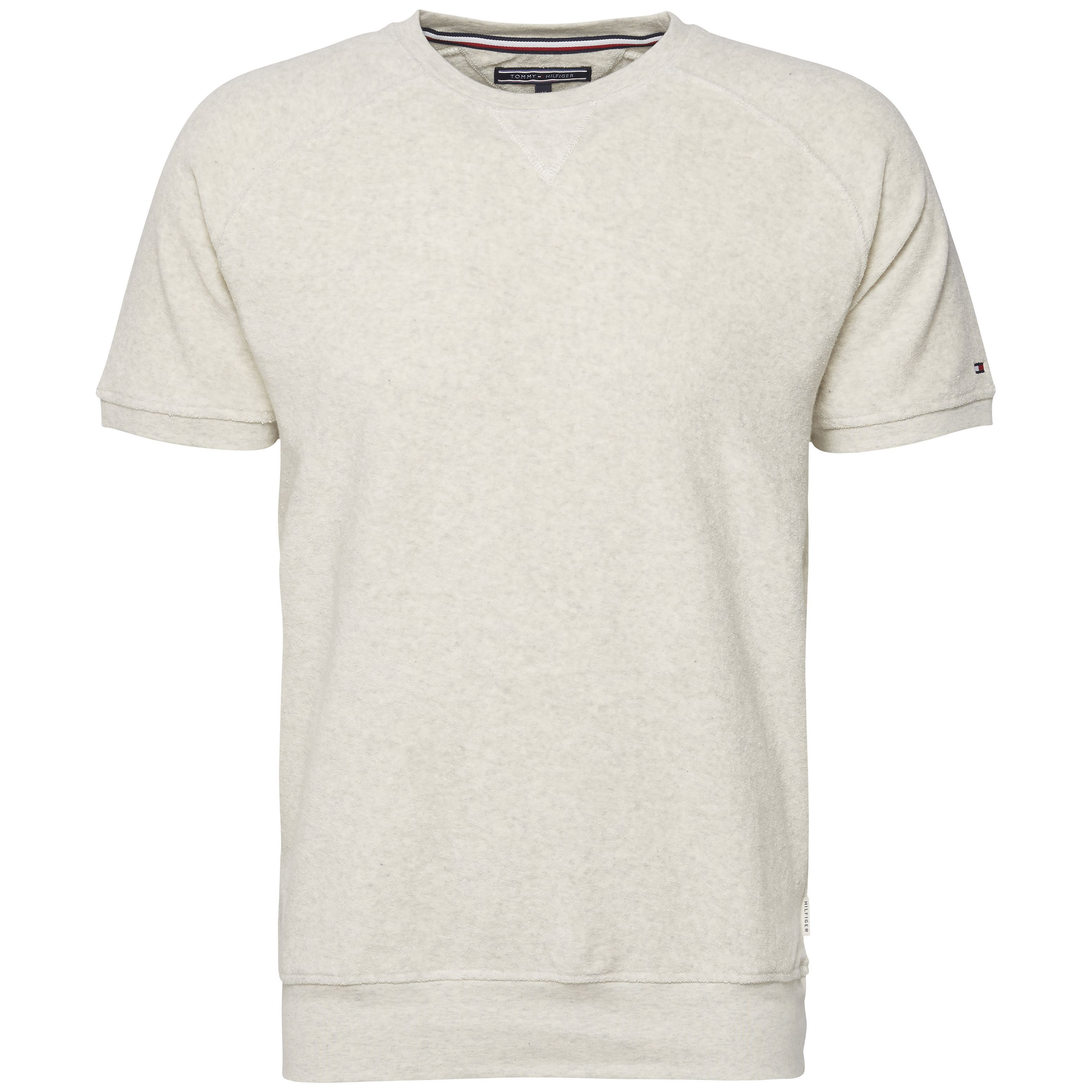 Men's Tommy Hilfiger Ruben Towelling Top, Off White