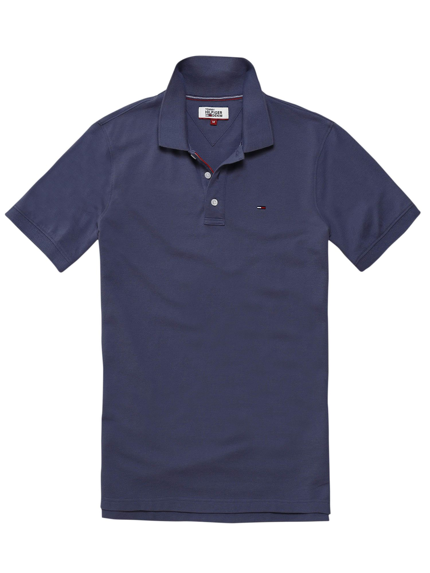 Men's Tommy Hilfiger THDM basic polo top, Stone Blue
