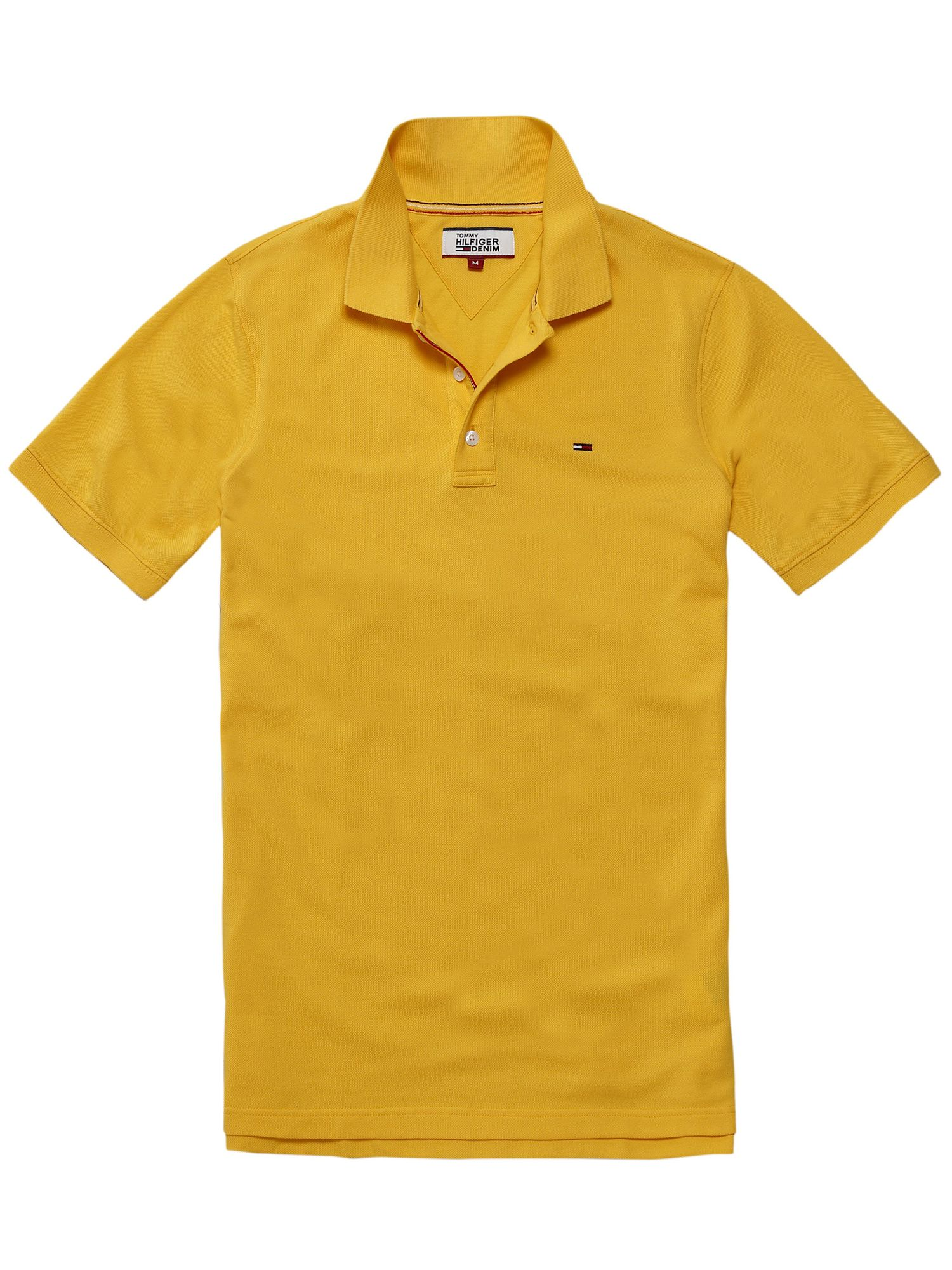 Men's Tommy Hilfiger THDM basic polo top, Yellow