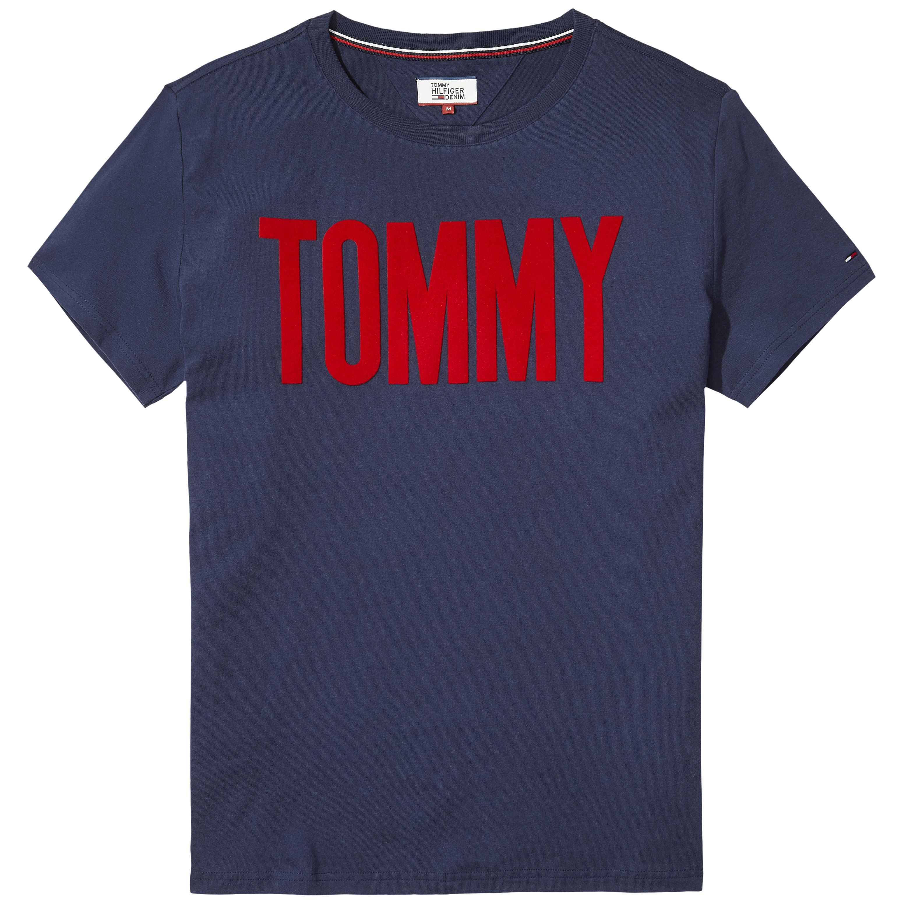 Men's Tommy Hilfiger Tommy Logo Tee, White