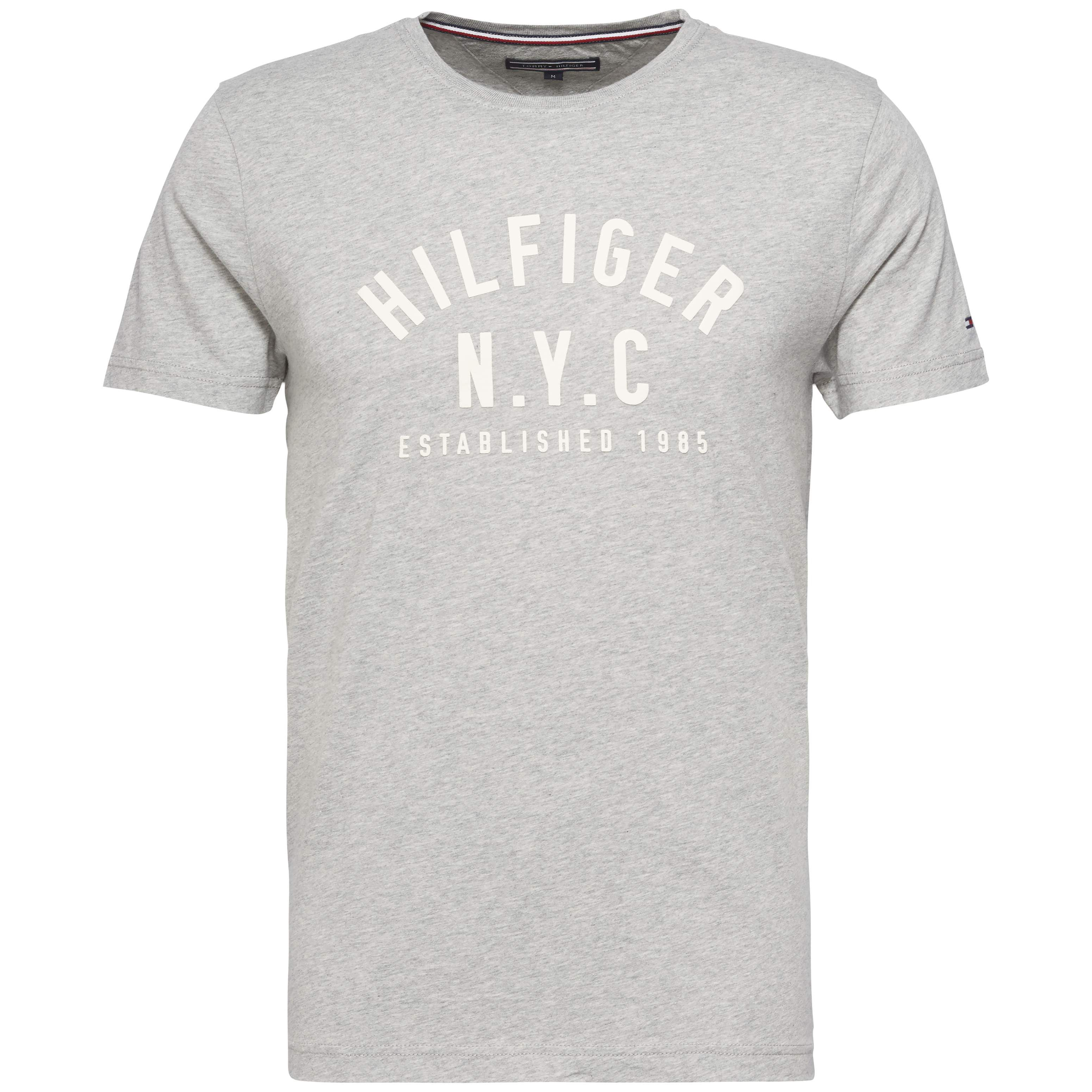 Men's Tommy Hilfiger Chase Crew Neck Tee, Light Grey