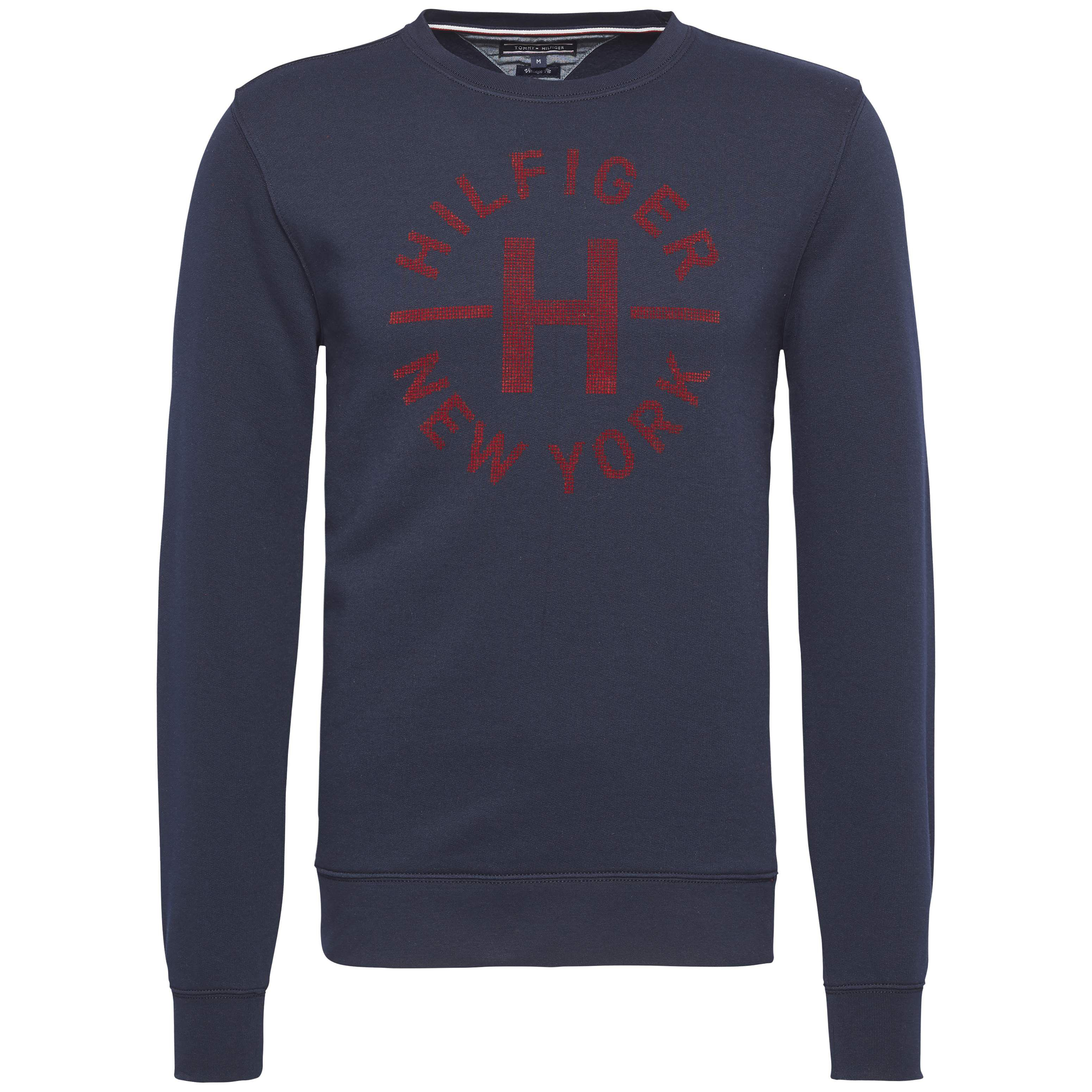 Men's Tommy Hilfiger Petric Logo Sweater, Blue
