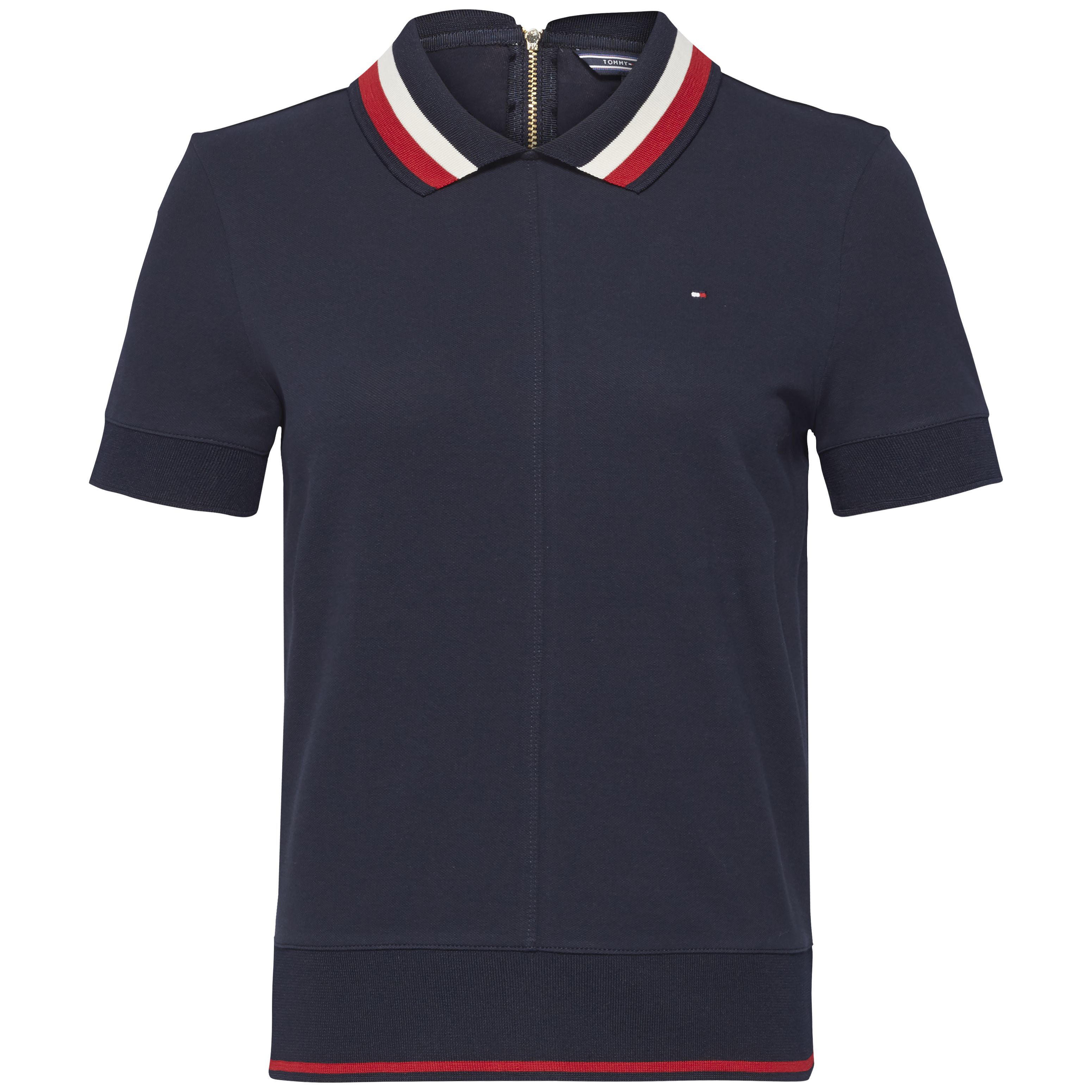 Tommy Hilfiger Tianna Heritage Short Sleeve Polo, Blue