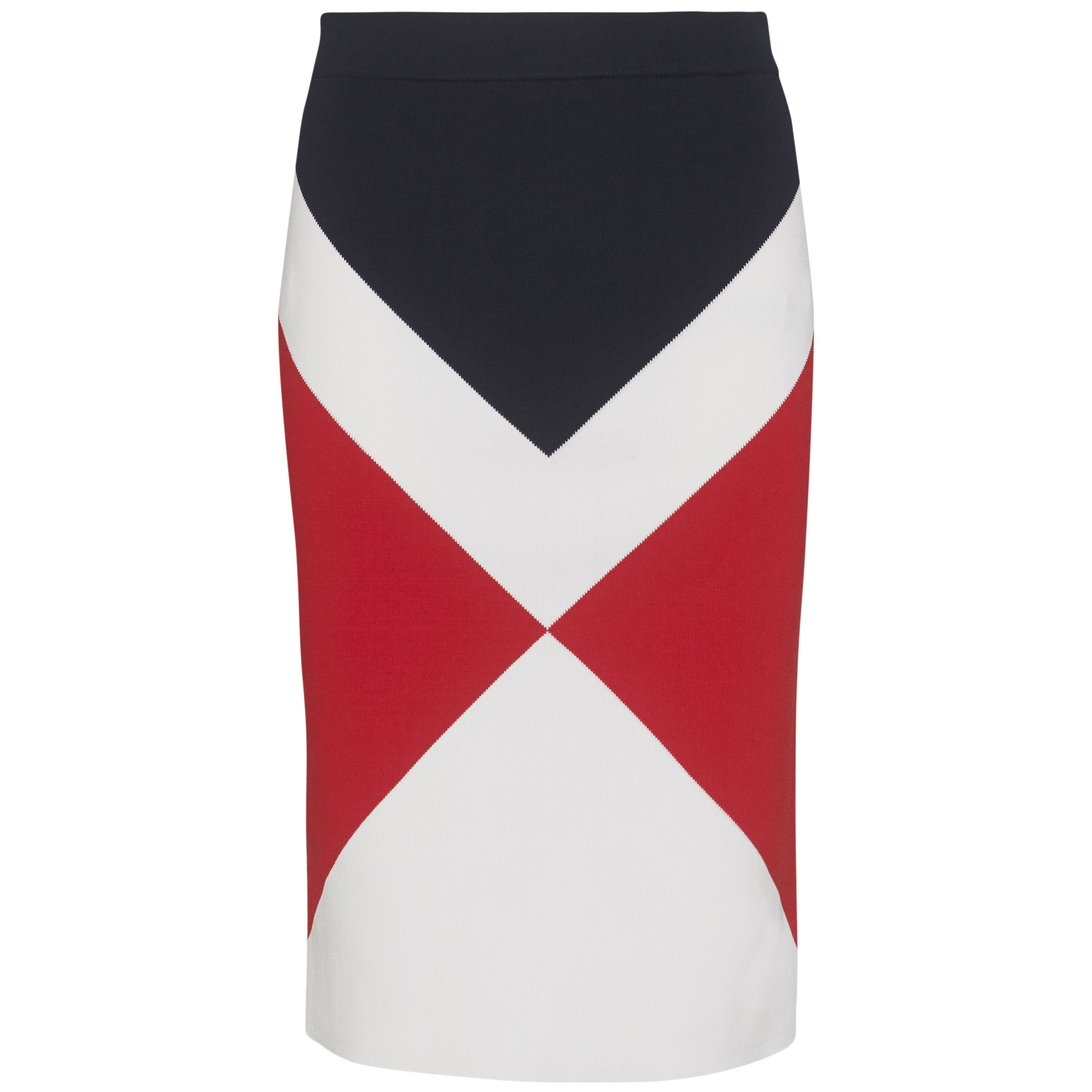 Tommy Hilfiger Abina Graphic Skirt, Multi-Coloured