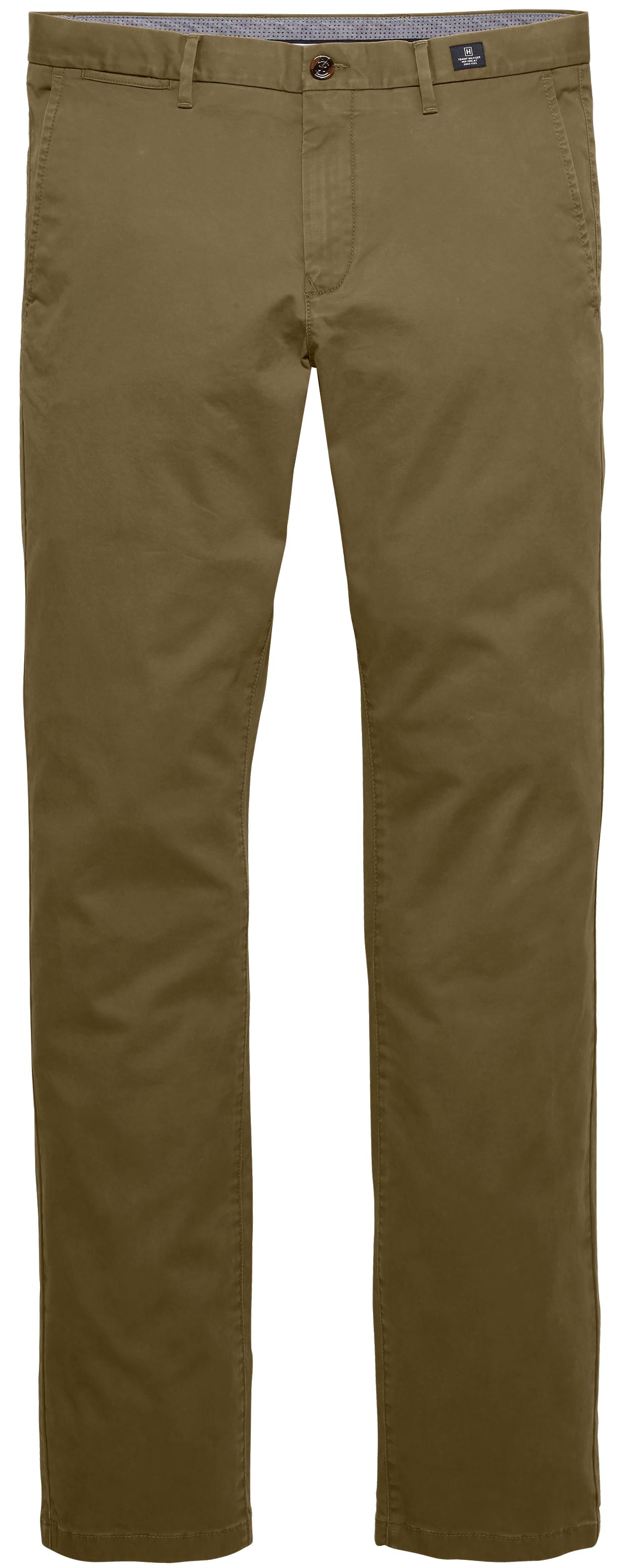 Mens Core Denton Straight Fit Chinos, Green