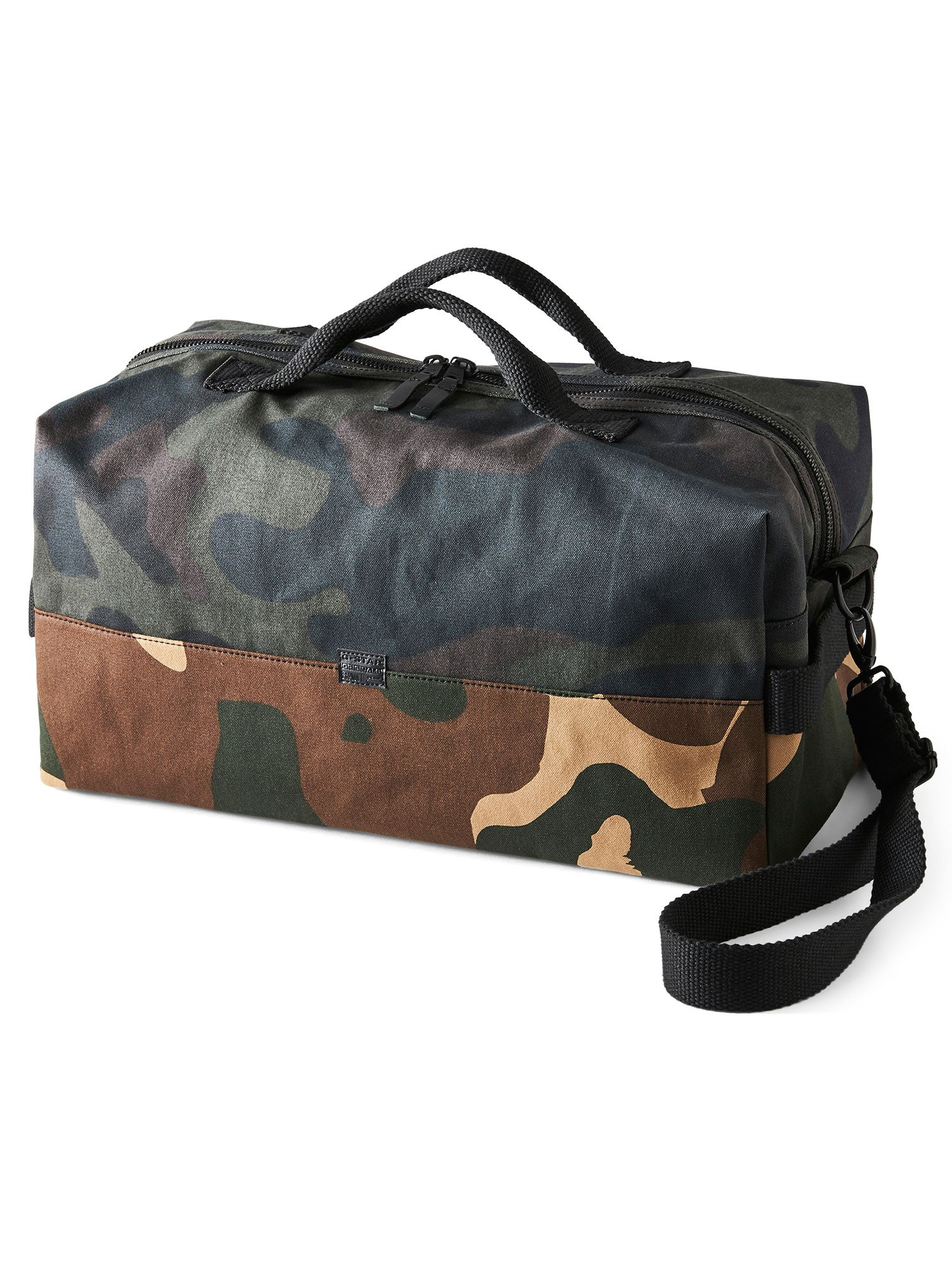 G-Star Barran Pattern Big Duffle Bag, Green