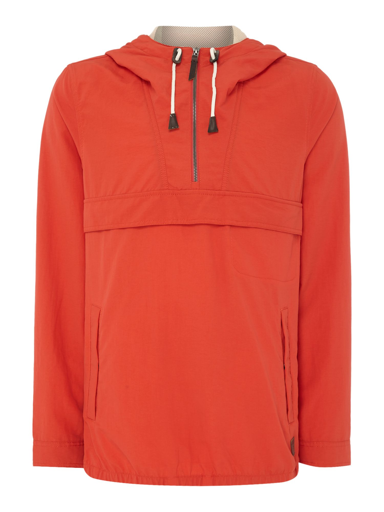 Mens ONeill Factor anorak jacket Red