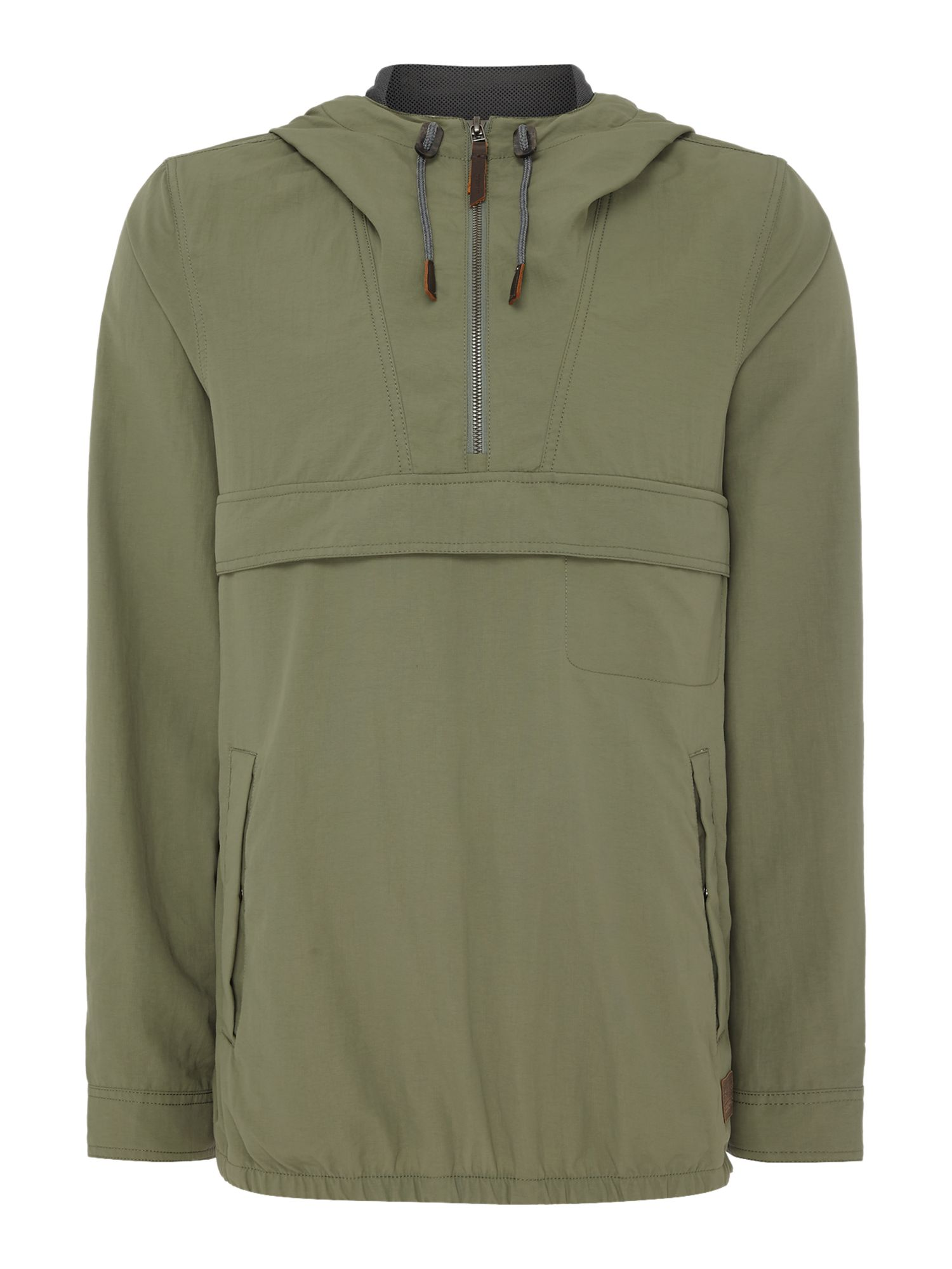 Mens ONeill Factor anorak jacket Green