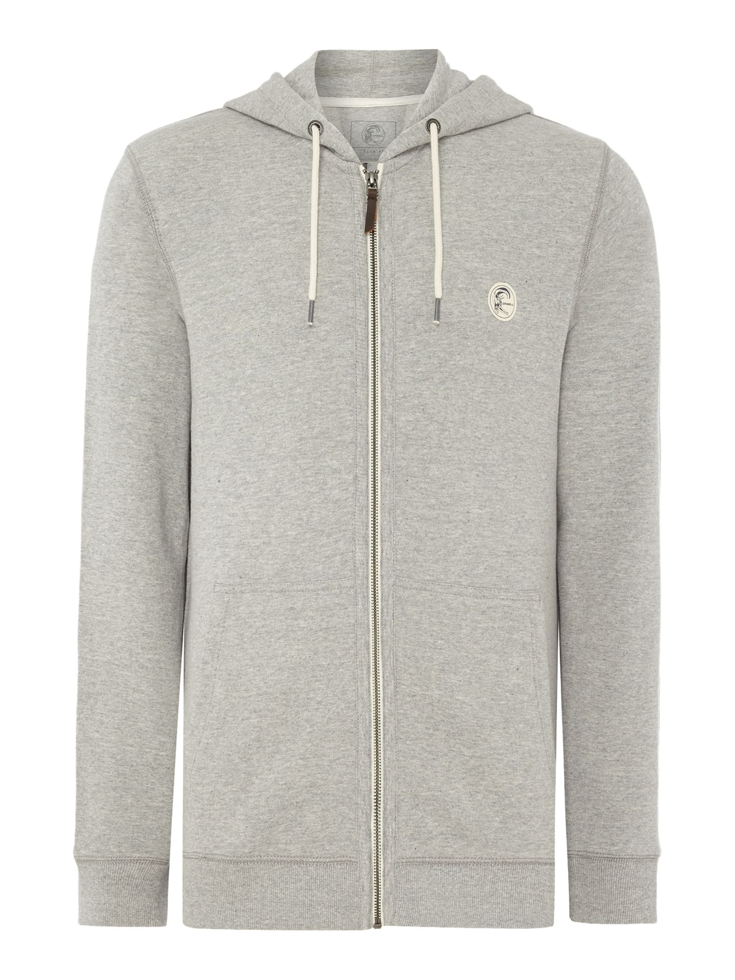 Men's O'Neill Originals full zip hoodie, Grey