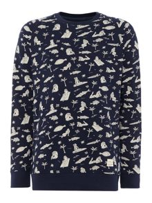 O'Neill Fish & chicks sweatshirt