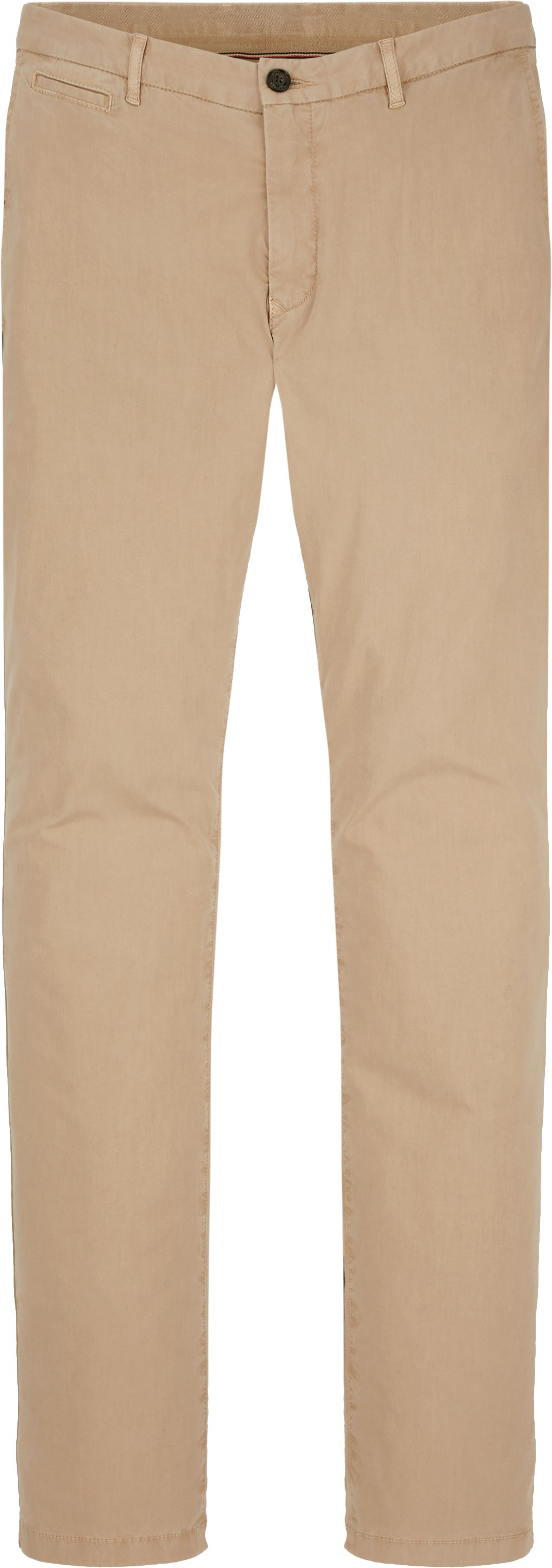 Mens Denton Straight Chino Trousers, White