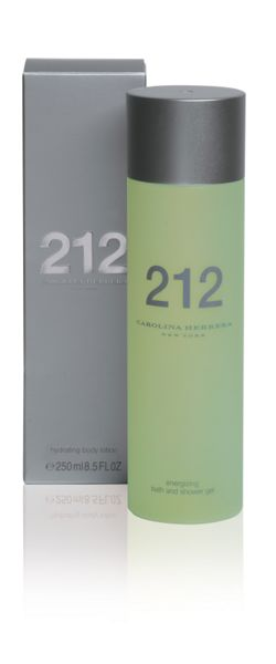Carolina Herrera 212 hydrating body lotion 250ml