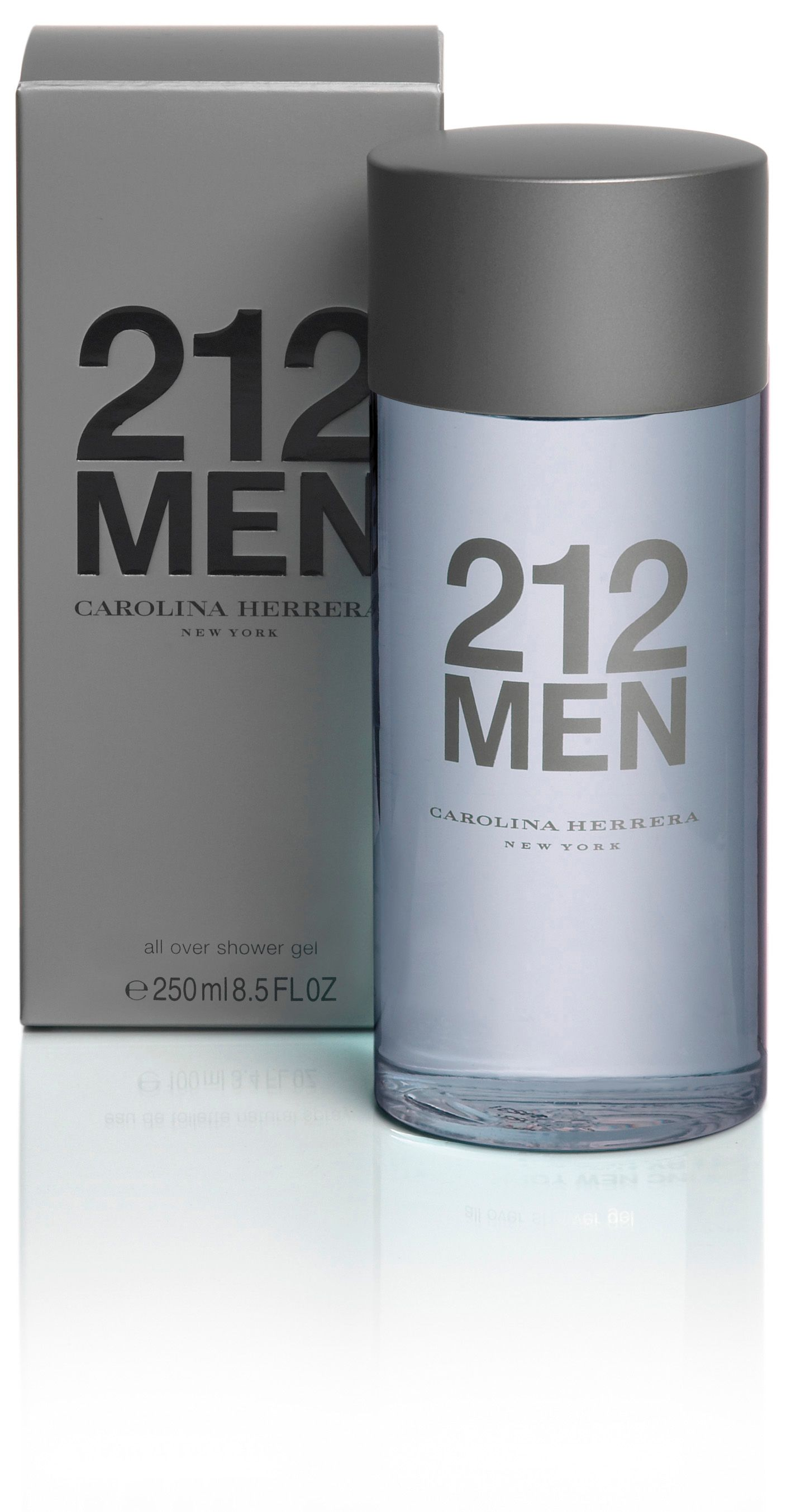 Carolina Herrera 250ml 212 mens shower gel product image