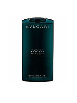 Bvlgari Aqva Pour Homme Shampoo And Shower Gel