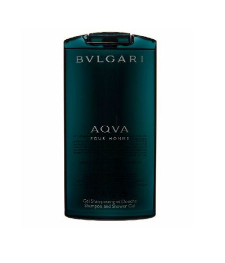 Bvlgari Aqva Pour Homme Shampoo And Shower Gel 200ml
