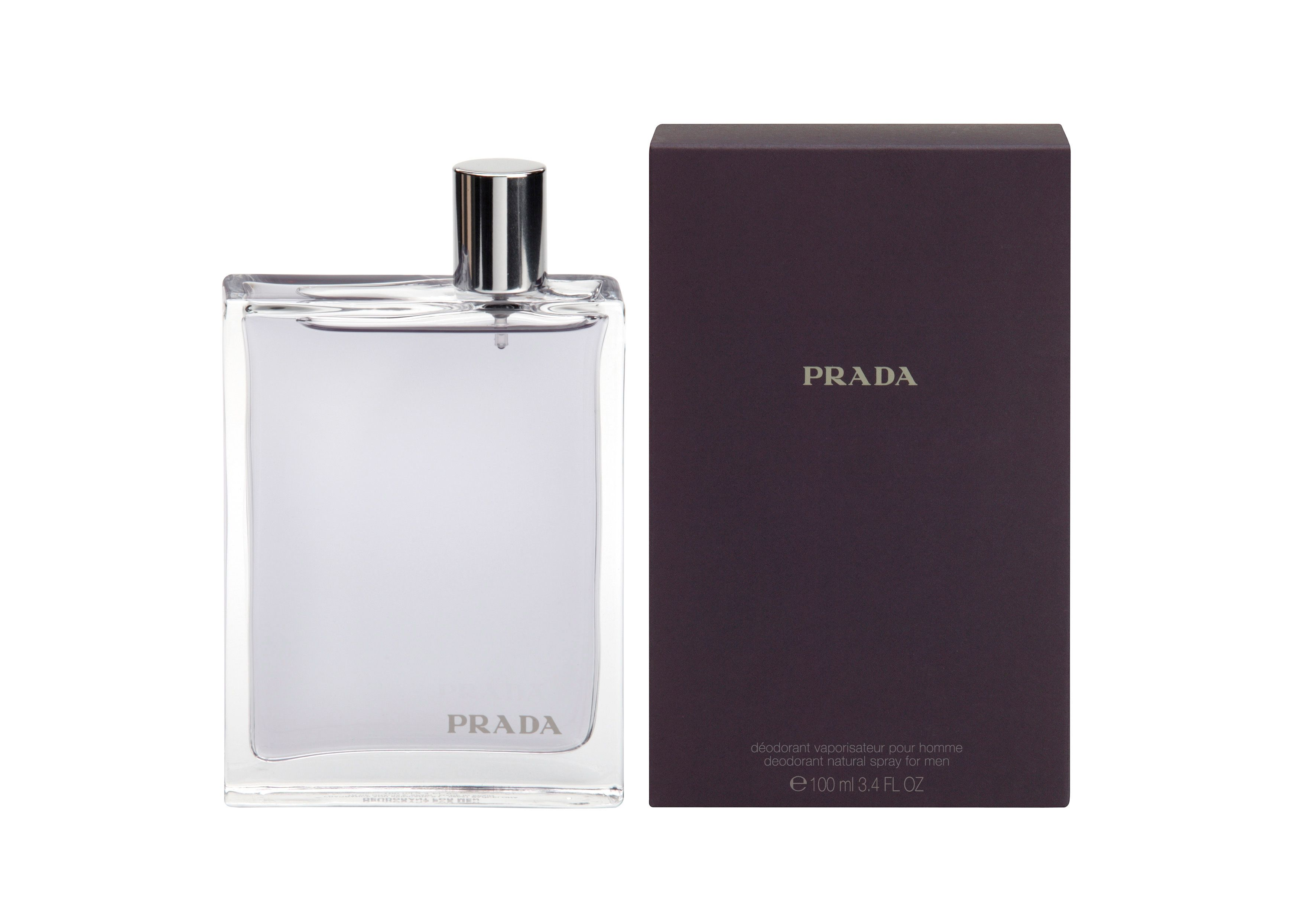 Prada 100ml mens deodorant spray product image