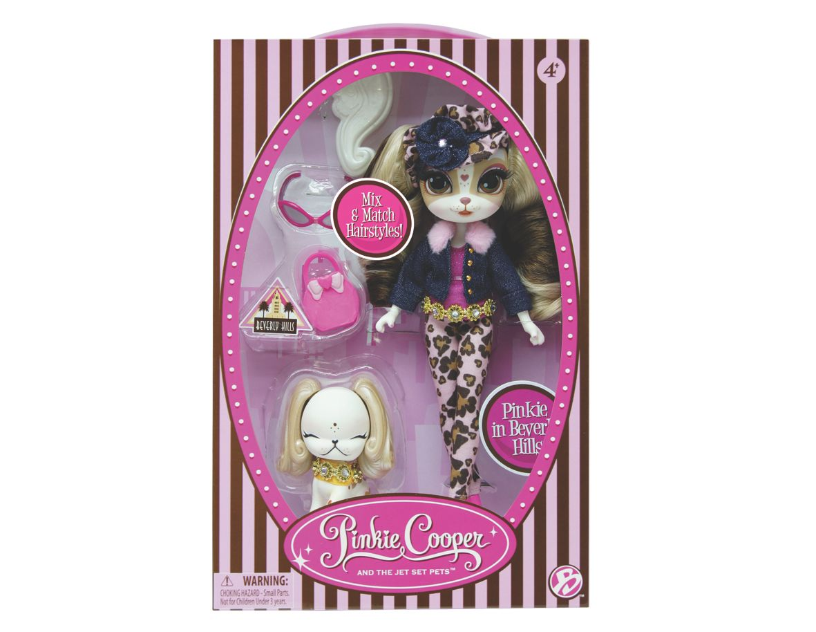 Pinkie in Beverly Hills Dlx Fashion doll