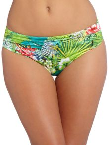 Fantasie Antigua Mid Rise gathered Bikini Brief