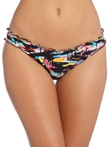 Venice Beach Frilled Hipster Bikini Brief
