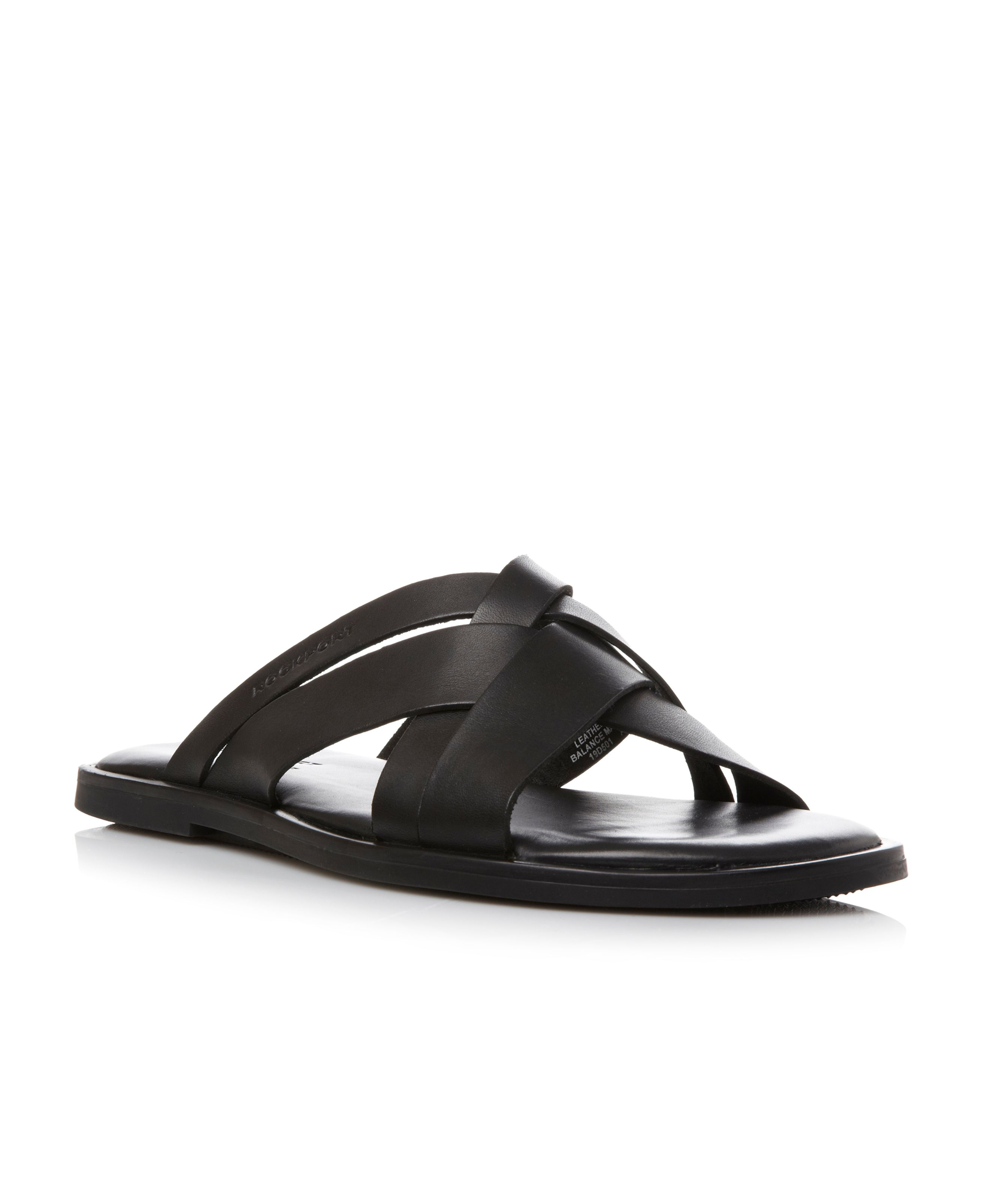 Beach Affair multi strap leather sandals