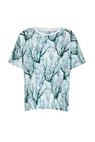 French Connection Sea Fern Holiday T-Shirt